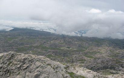 Los turistas desaparecieron cuando bajó una espesa niebla y llovía (Foto: archivo)