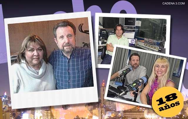 Luis y Susana, Franco Mamondes y Luis junto a Ivana.