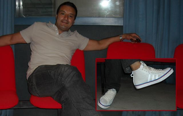 Las zapatillas POP de Gustavo Vinderola