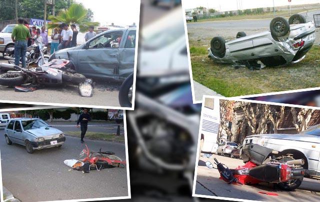 Notable disminución de accidentes de tránsito en Córdoba.