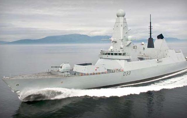 El buque británico HMS Dauntless entró en servicio en noviembre de 2010.