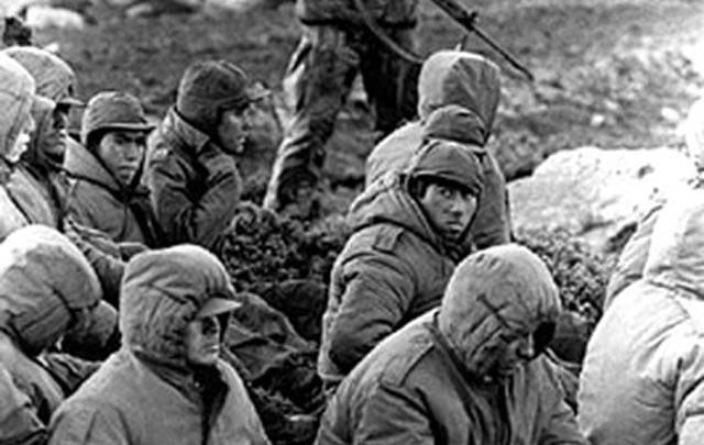 Mal provistos, los soldados argentinos combatieron contra una potencia mundial.