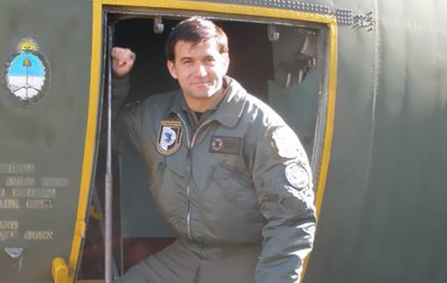 Martel dijo no sentir rencor contra el piloto británico que abatió a su padre.