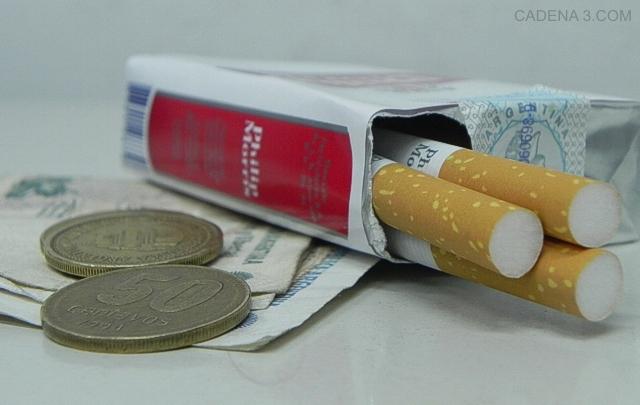 El aumento de cigarrillos es el tercero en lo que va del año.
