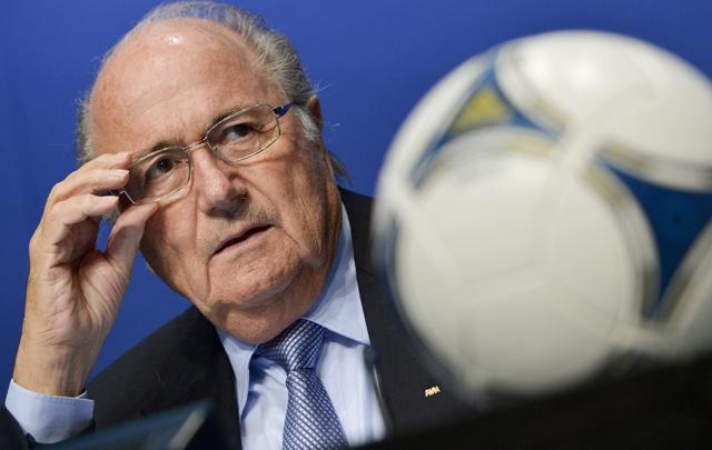 Blatter señaló que es un día muy difícil para el fútbol.