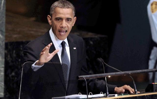 Barack Hussein Obama.
