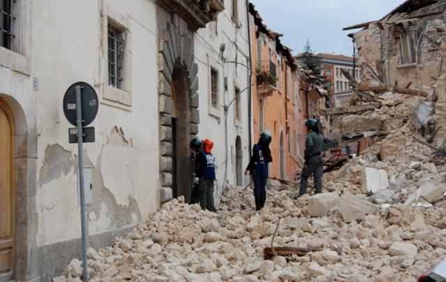 El sismo en L'Aquila provocó la muerte de más de 300 personas.
