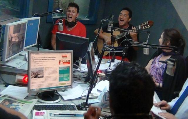 Canto 4 en Juntos presentó su nuevo trabajo discográfico ''Vamos''.