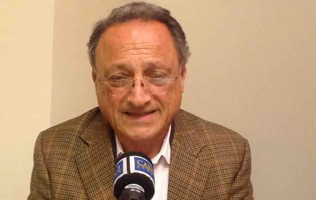 Rubén Perina visitó los estudios de Cadena 3 en Washington.