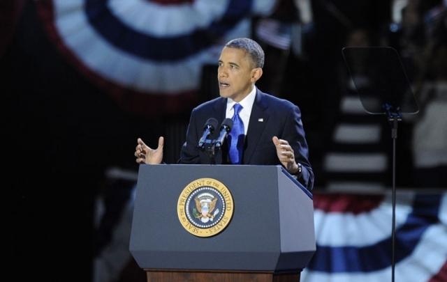 Festejos de Barack Obama.