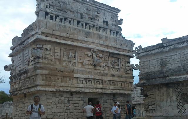 Las milenarias ruinas de Chichén Itzá.