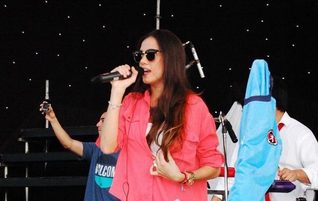 Belén Condomí Alcorta ex cantante de Agapornis.