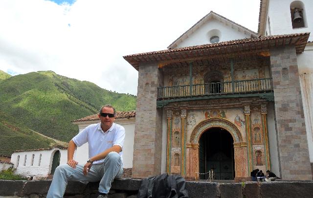 La iglesia de Andahuaylillas, una joya peruana.