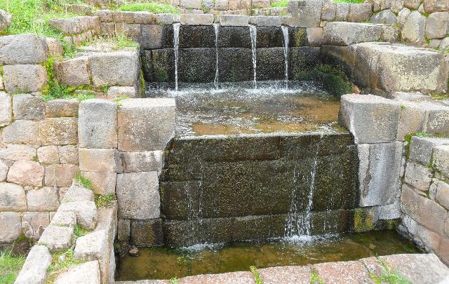 Los incas construyeron los canales en el siglo XV.