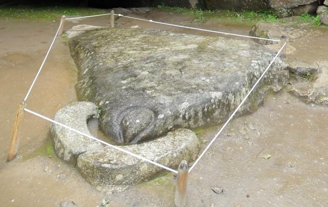 La llamada Piedra del Cóndor en Machu Picchu.