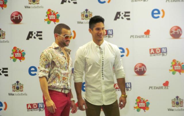 El dúo venezolano desplegó toda su energía sobre Viña del Mar.