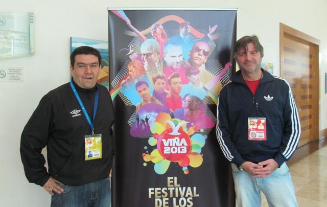 Christian Cumming y Sergio Zuliani en Viña del Mar