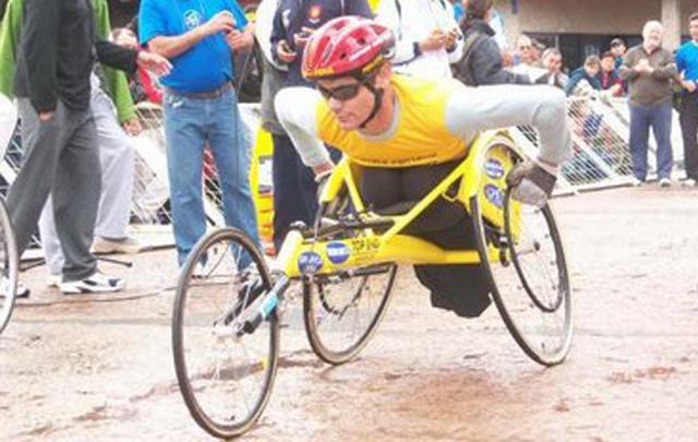 Esteban Roldán un atleta que superó la adversidad