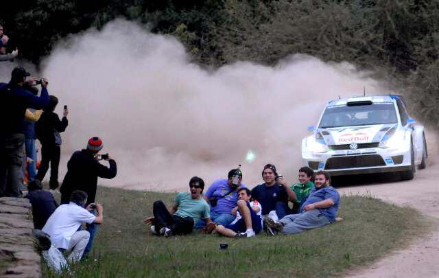 Ogier se está transformando en la sensación del Rally de Córdoba.