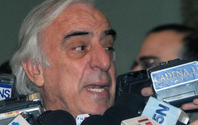 Roberto Fernández, titular de UTA nacional (Foto: Archivo)