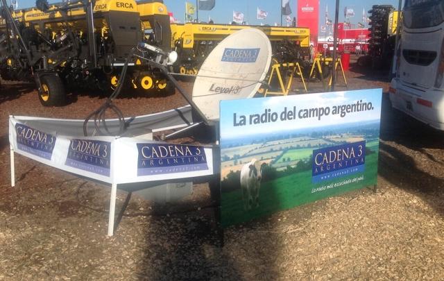 Cadena 3 estará presente en el evento agropecuario.
