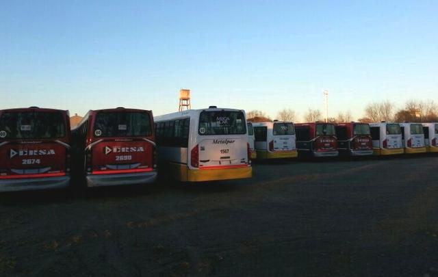 Será normal el transporte público en Córdoba el lunes.