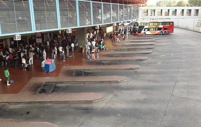 AOITA informa a los choferes sobre las negociaciones en la Terminal.