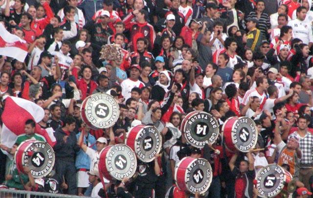 Saldivia había integrado la primera línea de Los Borrachos del Tablón (Foto: archivo)
