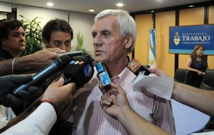Antonio Caló confirmó el paro para este miércoles a las 12.