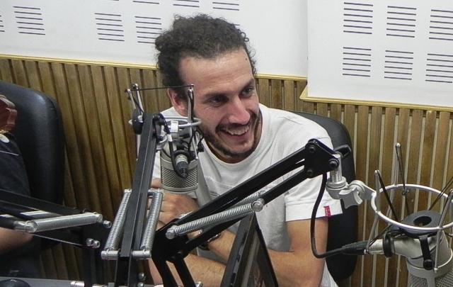 Gabriel Polidoro en Tiempo Compartido.