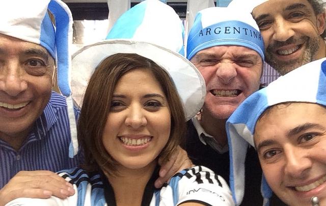 Mario, Geo,Sergio, el Turco y Monti son mundiales.