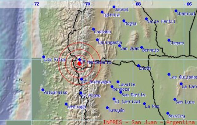 El sismo registró una profundidad de 99 kilómetros.