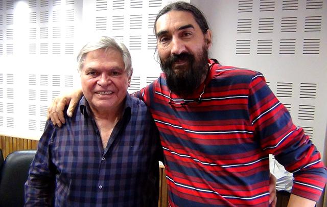Hugo Varela visitó los estudios de Cadena 3 en Viva la Radio.