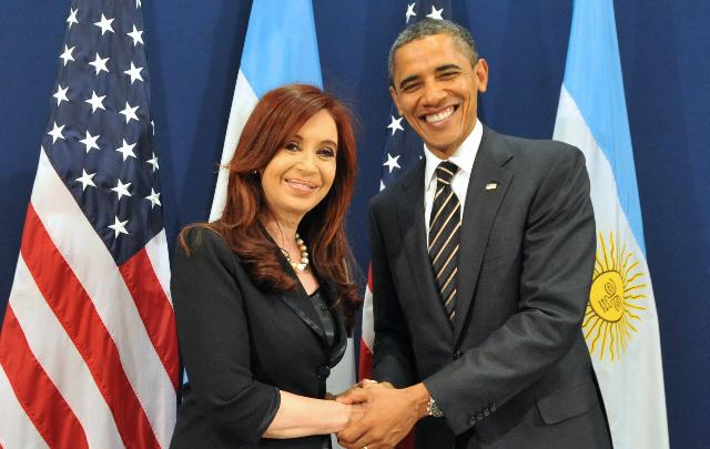 Obama saludó a Cristina por la fecha patria.