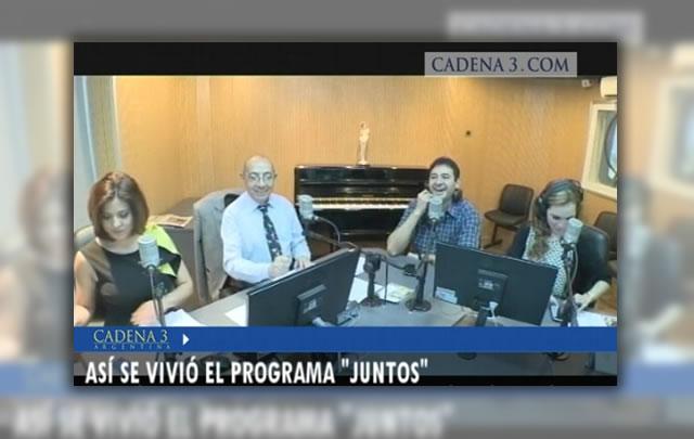 Revivi la primera transmisión online de ''Juntos''.