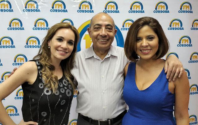 Mario saluda a Agustina y Geo.