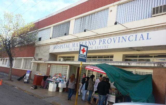 La mujer permanece internada en la Maternidad Provincial (Foto: Archivo)