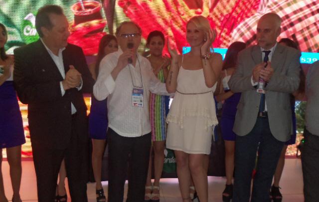 Mina Clavero presentó el Rally de Burros en la FIT.