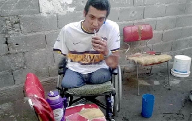 Sebastián Altamirano, espera hace siete años por una solución (Foto: diario Puntal).