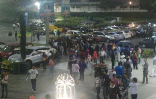 El temblor generó conmoción en Lima (Foto: El Comercio).