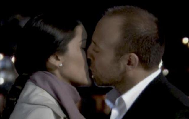 Los actores (pareja en la vida real), en la famosa novela ''Las mil y una noche''.