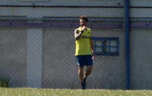 Osvaldo volvió a los entrenamientos (Foto: Archivo)