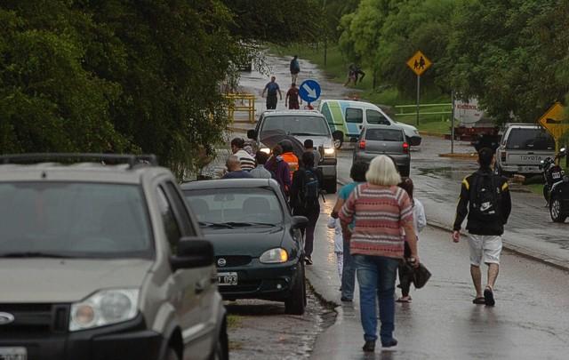 Preocupación en Mendiolaza por la lluvia caída en Sierras Chicas (Foto: archivo).