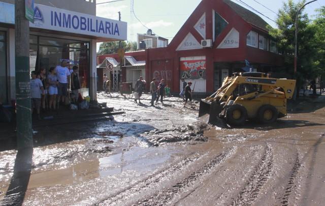 Las inundaciones del 15 de febrero, la causa de la postergación de las elecciones.