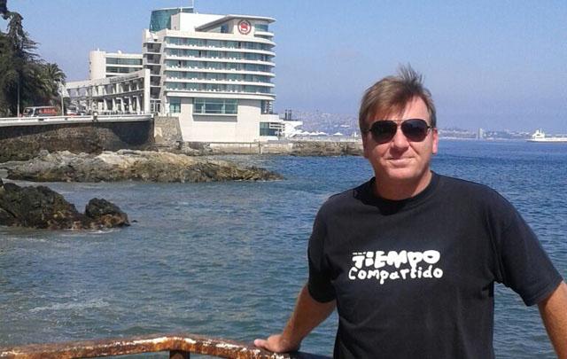Guillermo Hemmerling llegó a Viña del Mar.