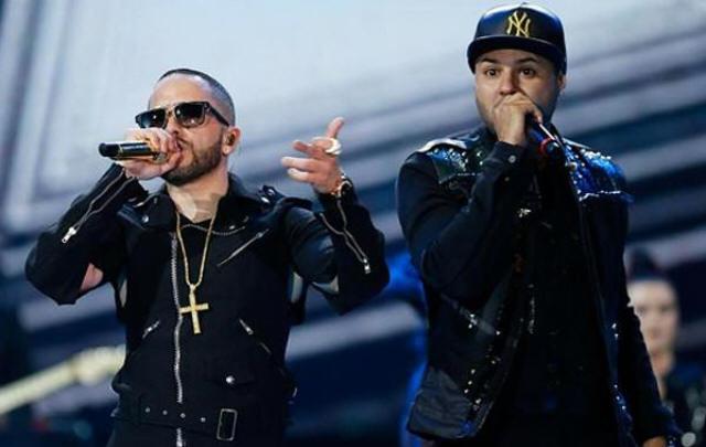 Yandel trajo la fiesta del reggaeton a Viña. (Foto: @HitUrbano)