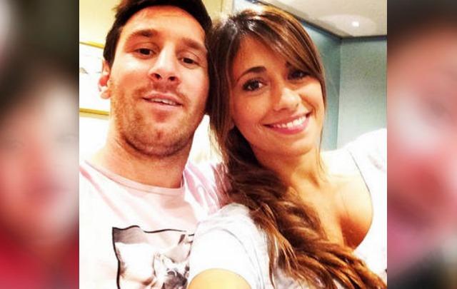 Antonella Roccuzzo fue internada de urgencias en Rosario.