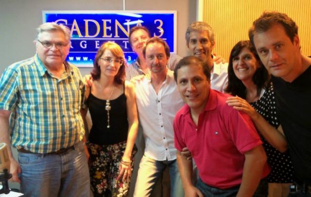 El equipo histórico de ''Viva la Radio''.