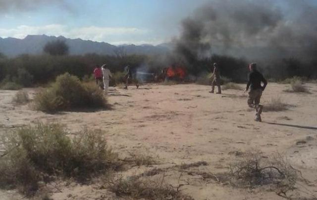 El choque de helicópteros dejó 10 muertos en La Rioja.