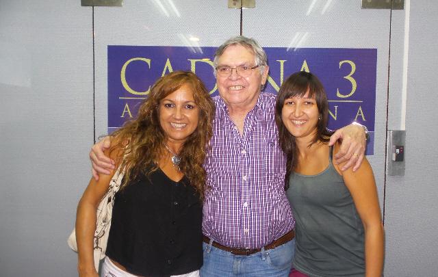 Silvia Lallana visitó a Rony Vargas en Viva la Radio.
